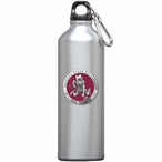 Arizona State Sparky Red Pewter Accent Stainless Steel Water Bottle