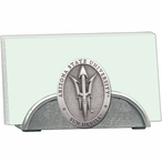 Arizona State Sun Devils Pitchfork Business Card Holder with Pewter