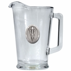 Arizona State Sun Devils Pitchfork Glass Pitcher with Pewter Accent