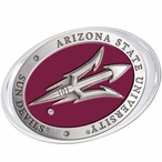 Arizona State Sun Devils Pitchfork Red Pewter Accent Paperweight