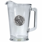 Arizona State Sun Devils Sparky Glass Pitcher with Pewter Accent