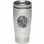 Arizona State Sun Devils Sparky Stainless Steel Travel Mug with Pewter