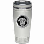 Army Black Knights Black Crest Stainless Steel Travel Mug with Pewter