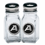 Army Black Knights Black Pewter Accent Salt & Pepper Shakers