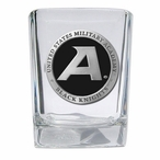 Army Black Knights Black Pewter Accent Shot Glasses, Set of 4