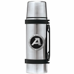 Army Black Knights Black Pewter Accent Stainless Steel Thermos