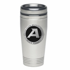 Army Black Knights Black Stainless Steel Travel Mug with Pewter Accent