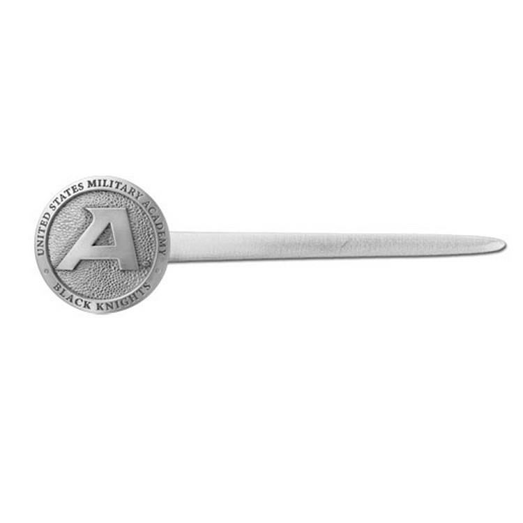 Army Black Knights Letter Opener With Pewter Accent