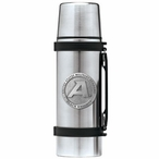 Army Black Knights Pewter Accent Stainless Steel Thermos