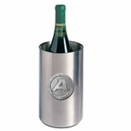 Army Black Knights Pewter Accent Stainless Steel Wine Bottle Chiller