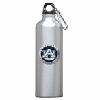 Auburn Tigers Blue Pewter Accent Stainless Steel Water Bottle
