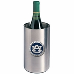 Auburn Tigers Blue Pewter Stainless Steel Wine Bottle Cooler Chiller