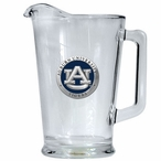 Auburn University Tigers Blue Glass Pitcher with Pewter Accent