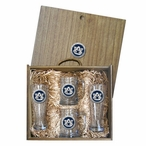 Auburn University Tigers Blue Pewter Accent Beer Box Set