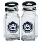 Auburn University Tigers Blue Pewter Accent Salt & Pepper Shakers