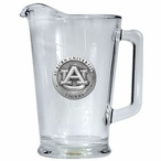 Auburn University Tigers Glass Pitcher with Pewter Accent
