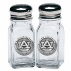 Auburn University Tigers Pewter Accent Salt & Pepper Shakers