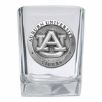 Auburn University Tigers Pewter Accent Shot Glasses, Set of 4