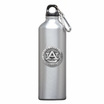 Auburn University Tigers Pewter Accent Stainless Steel Water Bottle