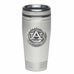 Auburn University Tigers Stainless Steel Travel Mug with Pewter Accent