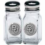 Baylor University Bears Pewter Accent Salt & Pepper Shakers