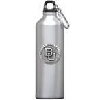 Baylor University Bears Pewter Accent Stainless Steel Water Bottle