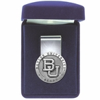 Baylor University Bears Pewter Accent Steel Money Clip