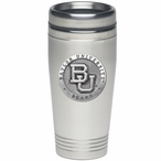 Baylor University Bears Stainless Steel Travel Mug with Pewter Accent