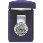 Celestial Steel Money Clip with Pewter Accent