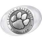 Clemson University Tigers Pewter Accent Paperweight