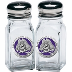 East Carolina Pirates Purple Pewter Accent Salt & Pepper Shakers