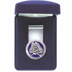 East Carolina Pirates Purple Pewter Accent Steel Money Clip
