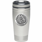 East Carolina Pirates Stainless Steel Travel Mug with Pewter Accent