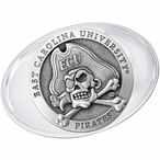 East Carolina University Pirates Pewter Accent Paperweight