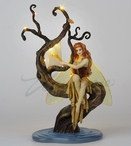 Firefly's Song Sculpture with LED Light by Selina Fenech