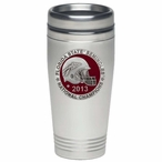 Florida State Red 2013 National Champs Travel Mug with Pewter Accent