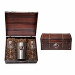 Florida State Seminoles 2013 Nat Champs Red Pewter Wine Chest Set