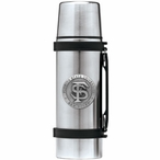 Florida State Seminoles Pewter Accent Stainless Steel Thermos