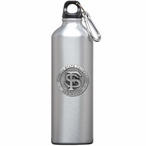 Florida State Seminoles Pewter Accent Stainless Steel Water Bottle