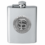 Florida State Seminoles Stainless Steel Flask with Pewter Accent