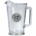 Florida State University Seminoles Glass Pitcher with Pewter Accent