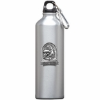 Georgia Bulldogs Dog Pewter Accent Stainless Steel Water Bottle