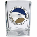 Georgia Southern Eagles Blue Pewter Accent Shot Glasses, Set of 4