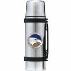 Georgia Southern Eagles Blue Pewter Accent Stainless Steel Thermos