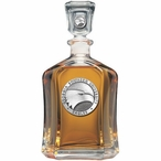 Georgia Southern Eagles Capitol Glass Decanter with Pewter Accents
