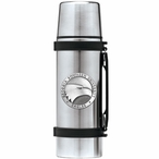 Georgia Southern Eagles Pewter Accent Stainless Steel Thermos