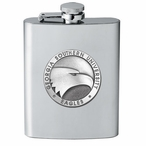 Georgia Southern Eagles Stainless Steel Flask with Pewter Accent