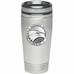 Georgia Southern Eagles Stainless Steel Travel Mug with Pewter Accent