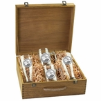 Georgia Southern University Eagles Pewter Accent Beer Box Set