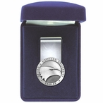 Georgia Southern University Eagles Pewter Accent Steel Money Clip